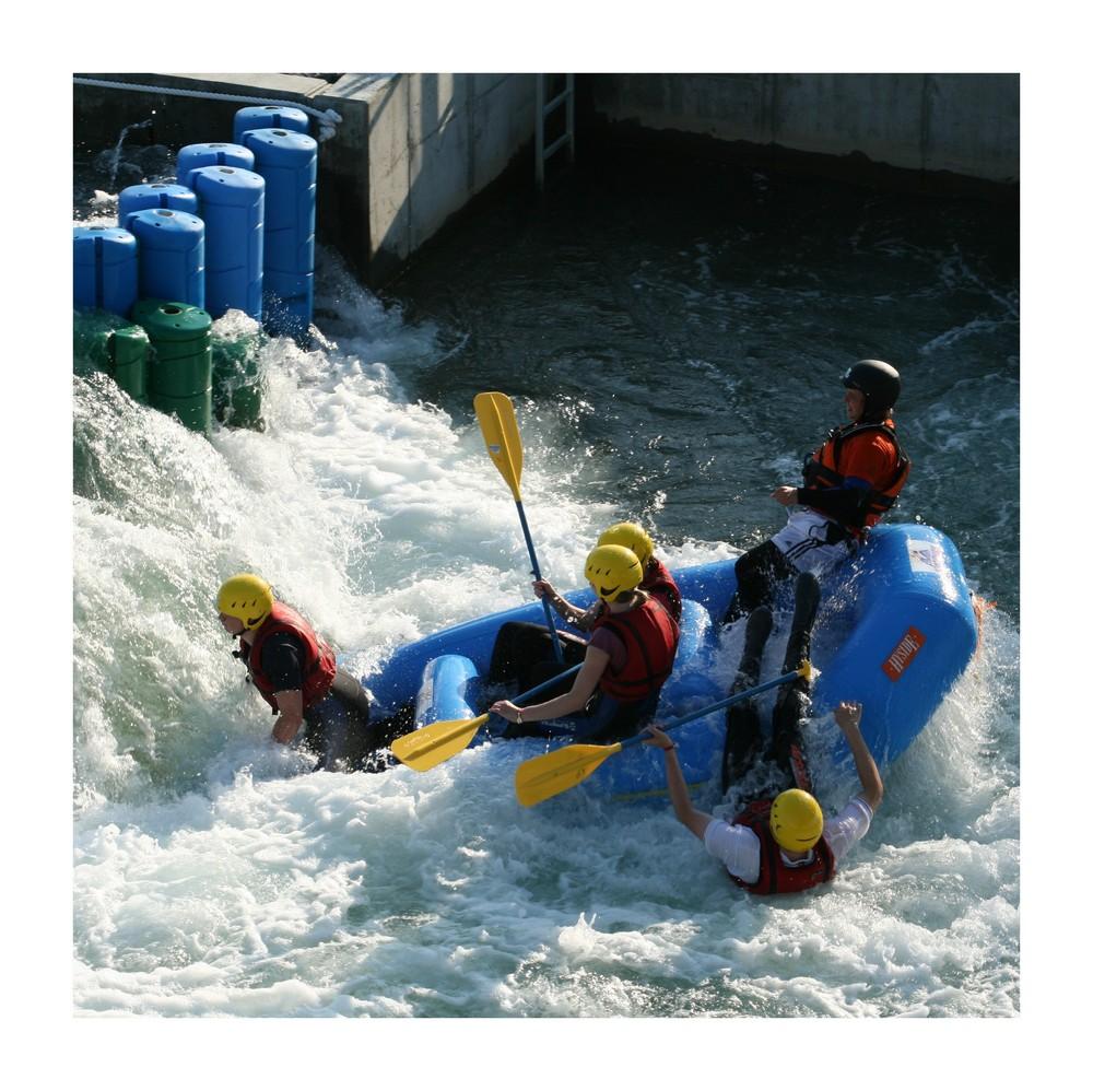 Rafting im Kanupark Markkleeberg