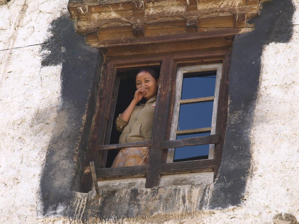 Ragazza del Ladakh