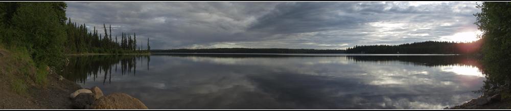 Rail Lake, BC, Canada