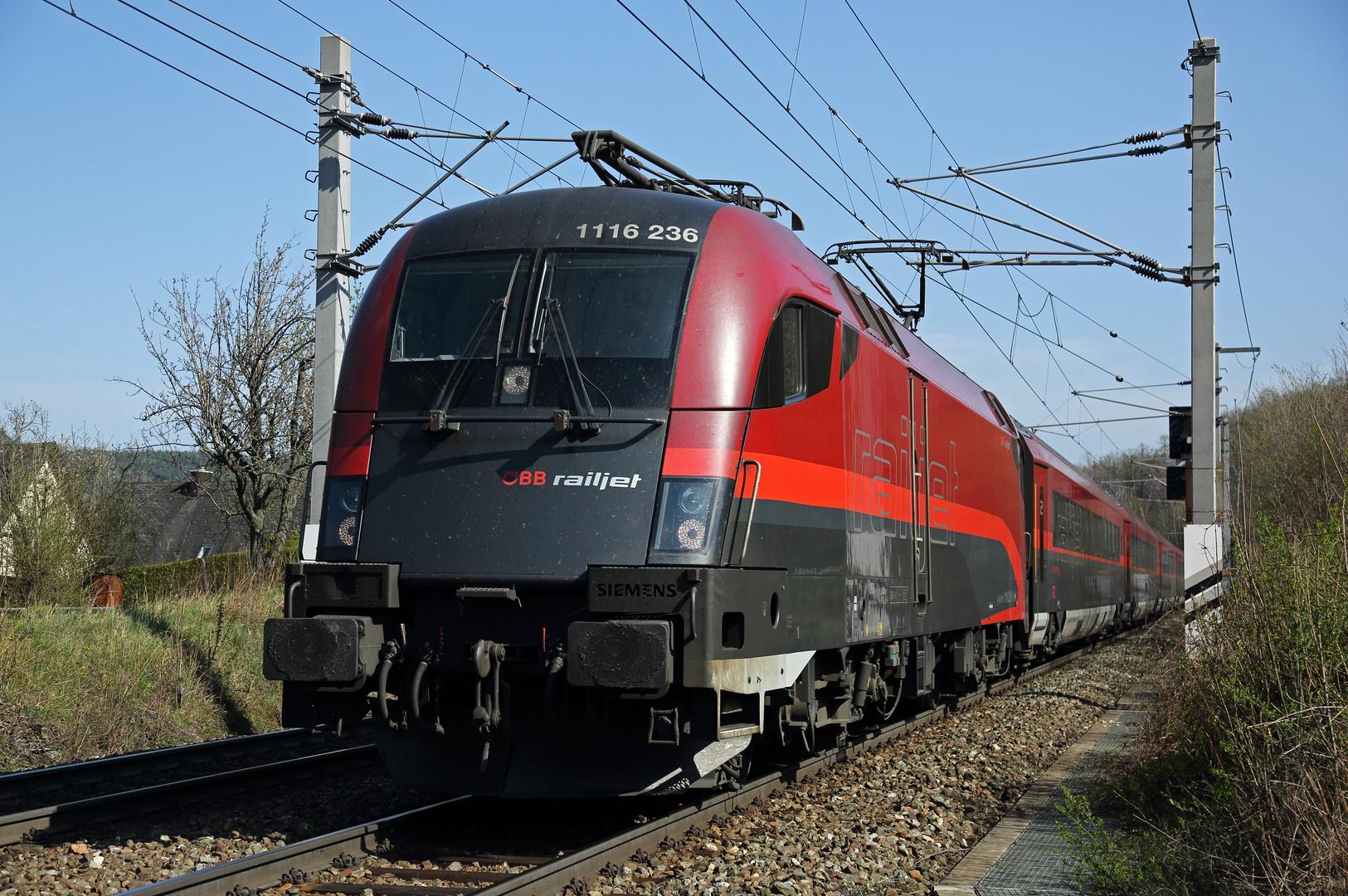 'railjet 1116 236'