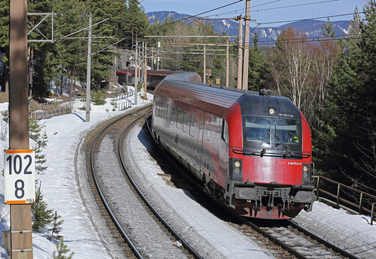 'railjet am Semmering'