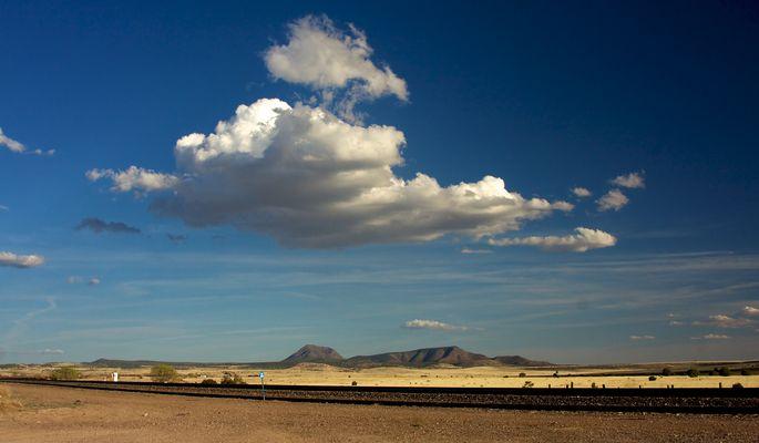 Railroad near Seligman