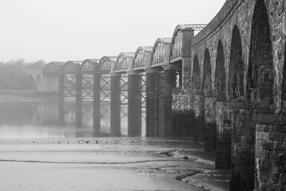 railway bridge at warleigh woods