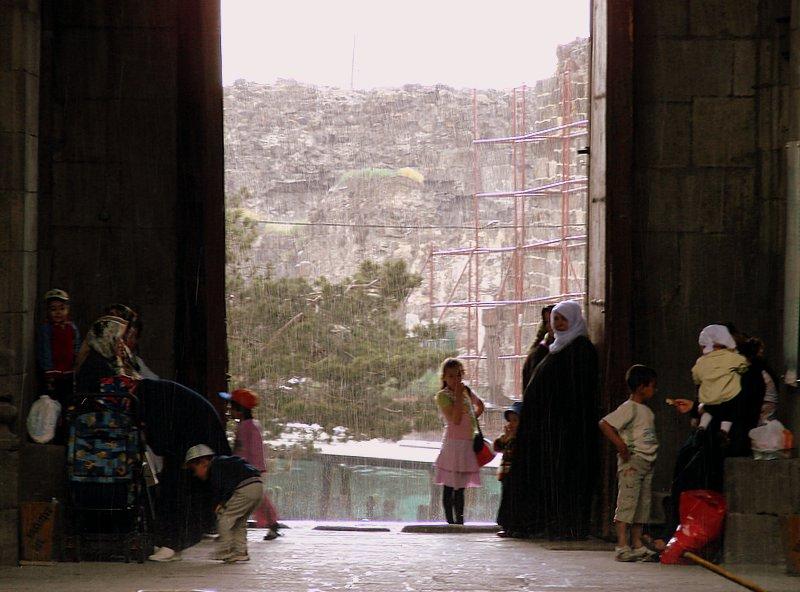 rain in Erzurum