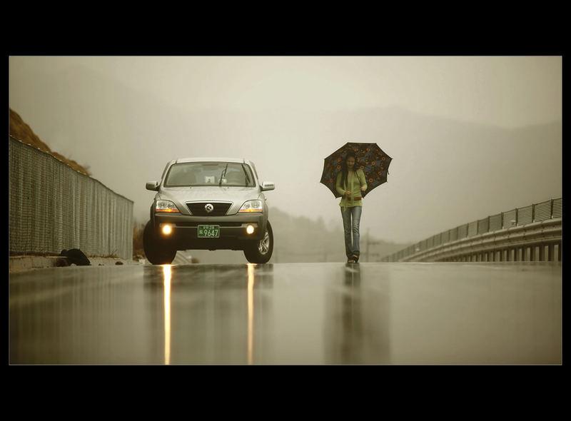 Rain & Lady
