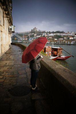 Rain on the Rio Douro
