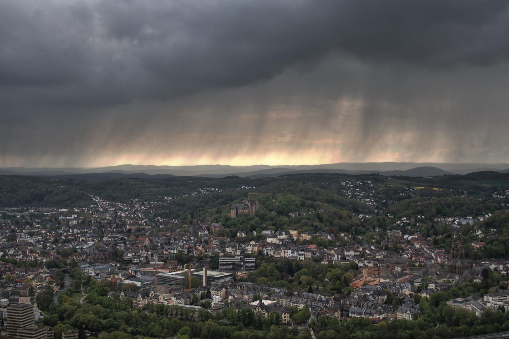 Rain over Marburg