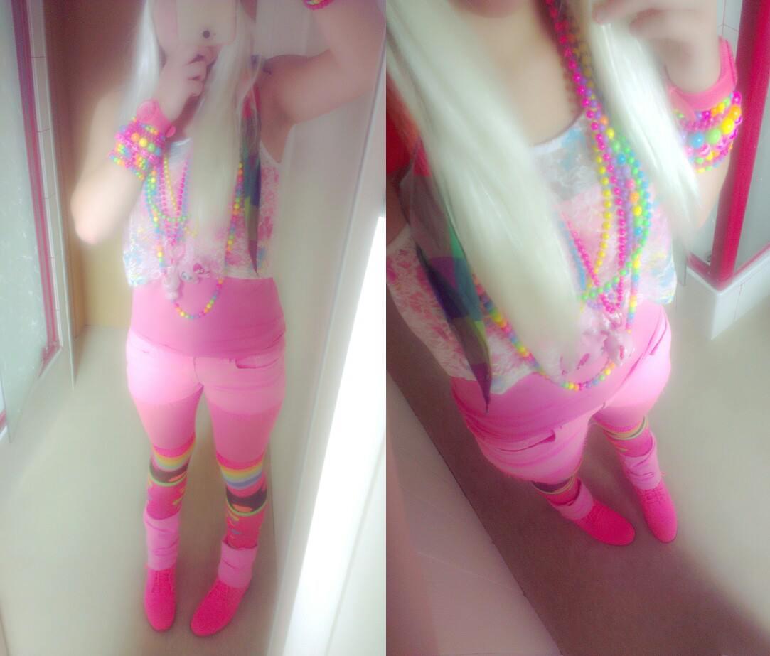 Rainbow and Neon Decora