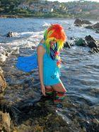 Rainbow - Dash - Shooting auf den Klippen von St. Tropez I