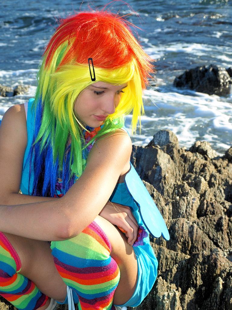 Rainbow - Dash - Shooting auf den Klippen von St. Tropez III