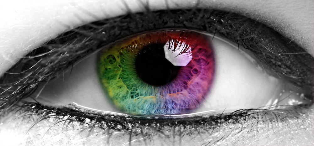 rainbow in her eyes... reload