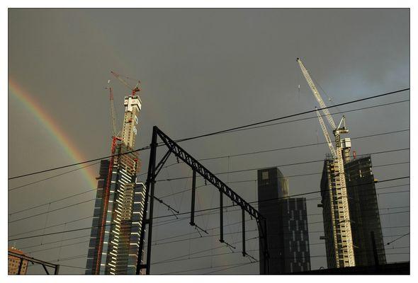 Rainbow in Melburne