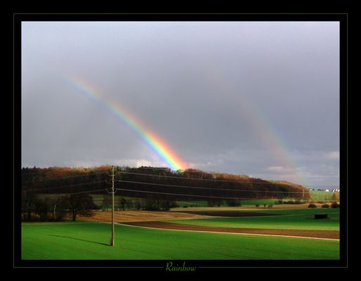 Rainbow in Neerach