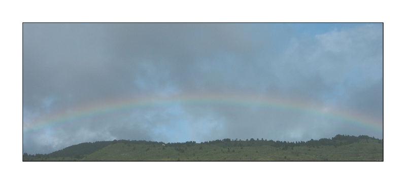 Rainbow (La Palma im Januar)