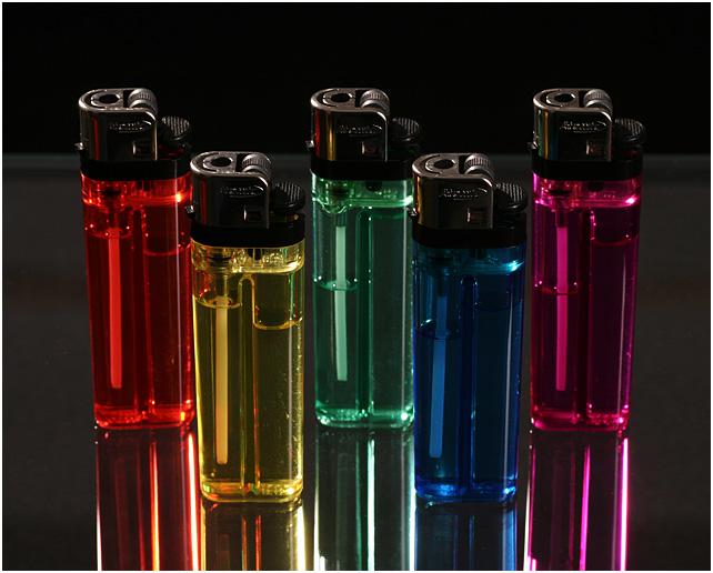 Rainbow Lighters