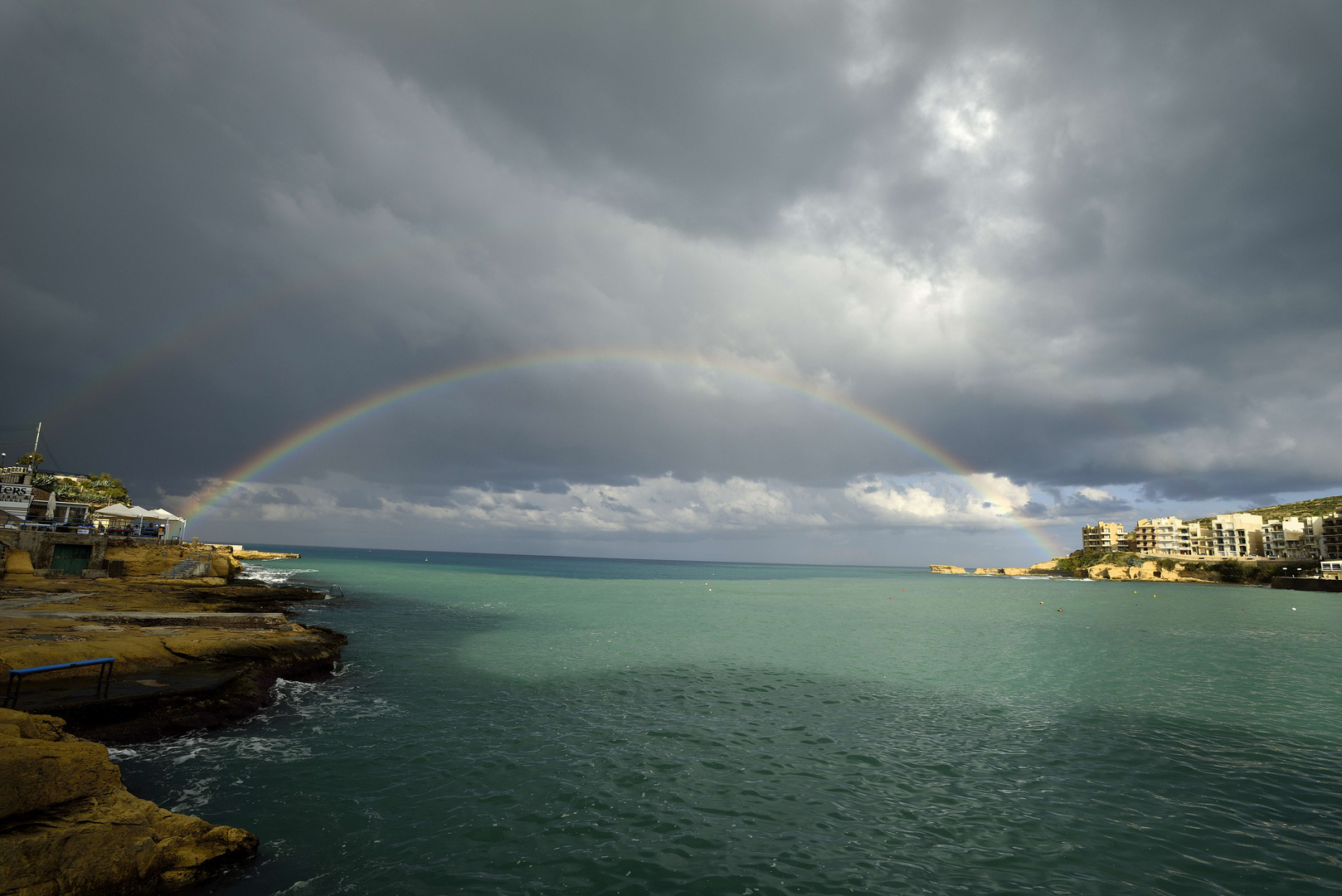 Rainbow over Gozo