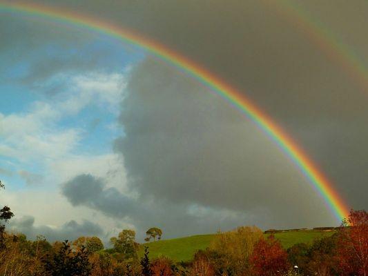 Rainbow over Llantristant 2