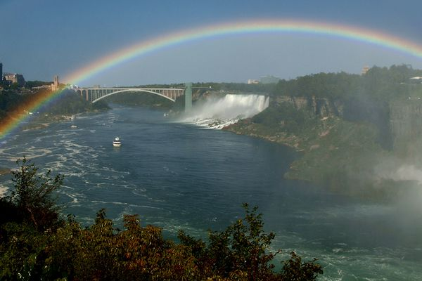 Rainbow over Rainbow Bridge