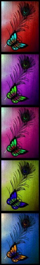 Rainbow Pfauenauge