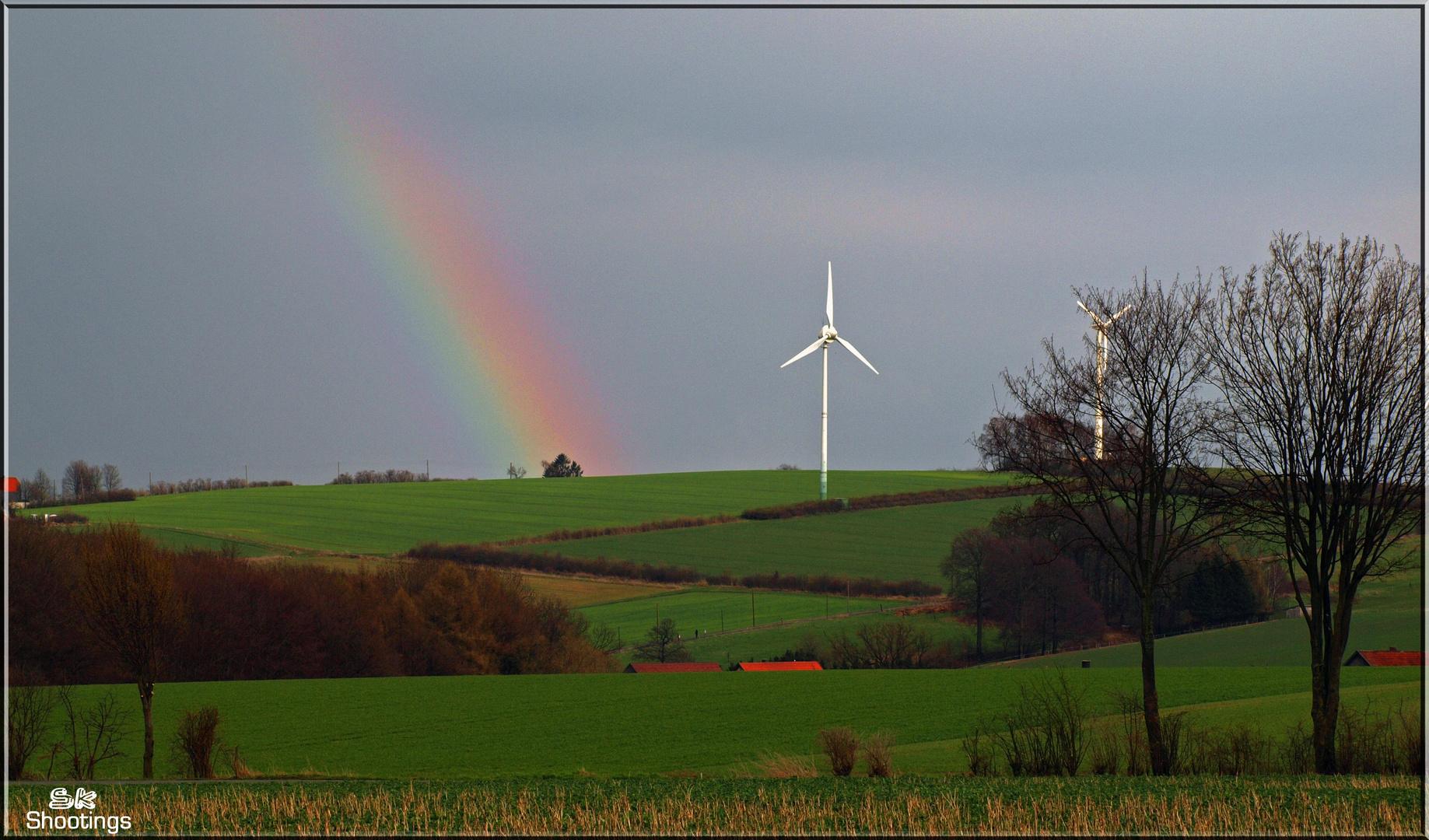 Rainbow to the Sky