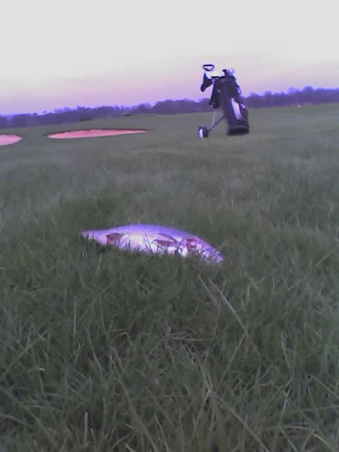 Rainbow Trout on the 7th hole!