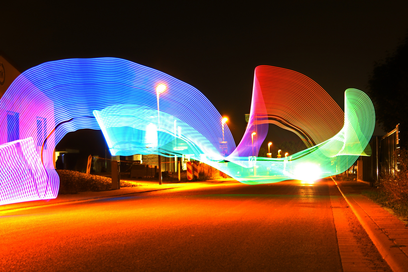 Rainbow wave....