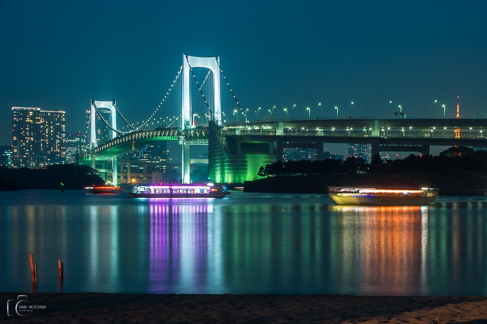 Rainbowbridge in Tokyo