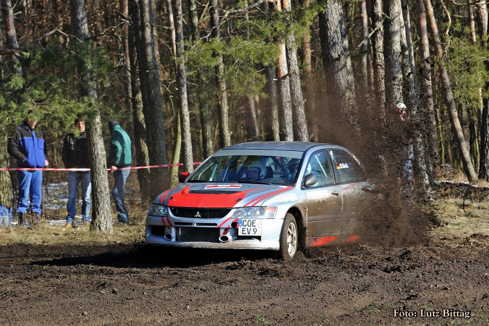 Rainer Keck und Stefan Hab gewinnen die 50. Rallye Lutherstadt Wittenberg