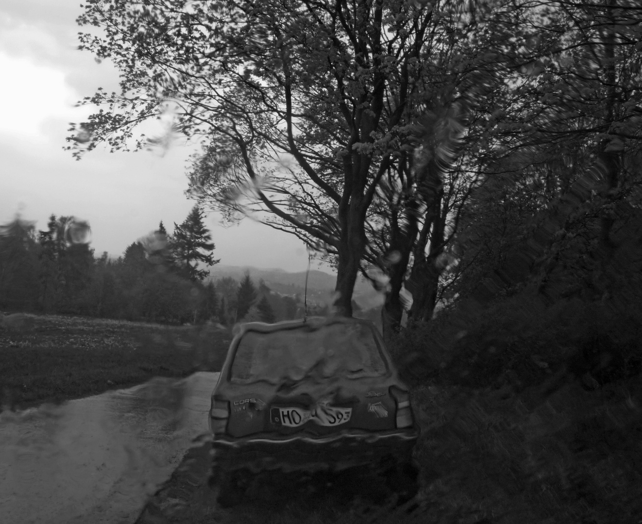 Rainy Day Corsa