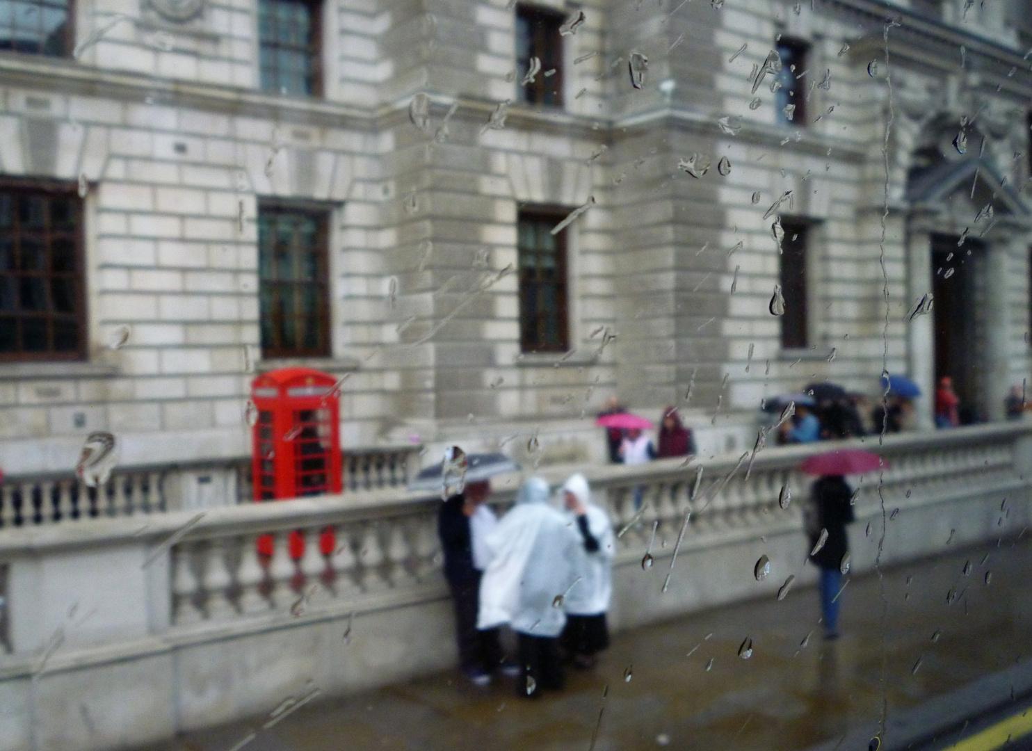 Rainy day in Pimlico