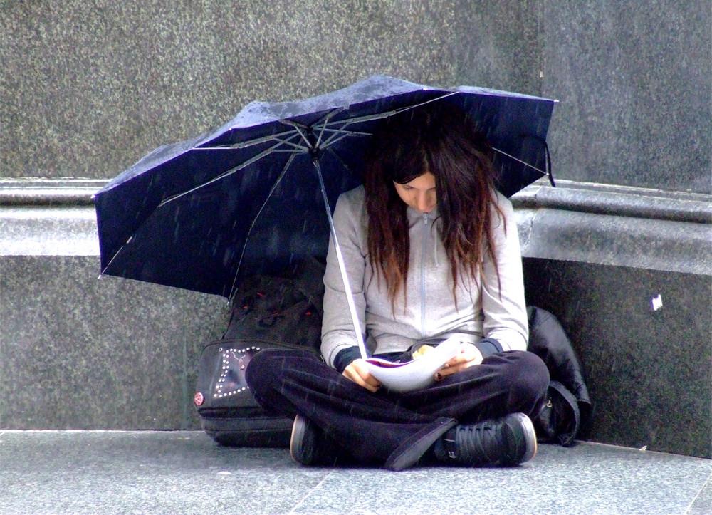 rainy day (zagreb/kroatien)