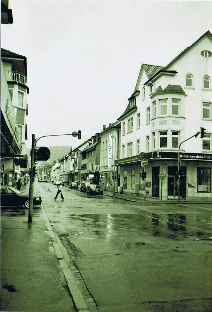 Rainy Mainstreet