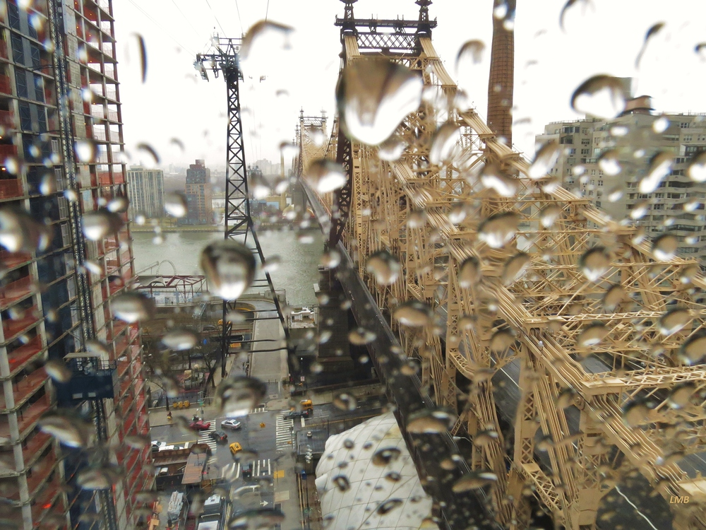 Rainy Queensboro Bridge
