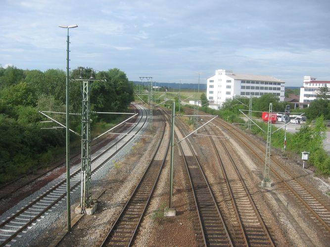 Raiway station Hessental Schwäbisch Hall