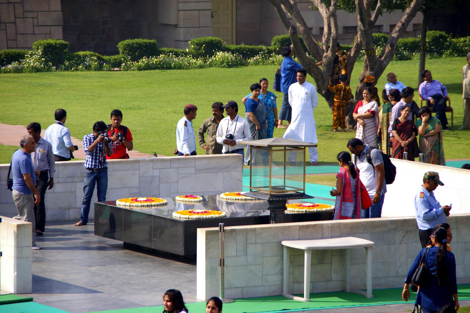 Raj Ghat, Mahatma Gandhi Memorial, Delhi