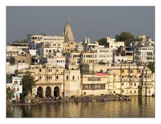 Rajasthan - Udaipur in der Abendsonne