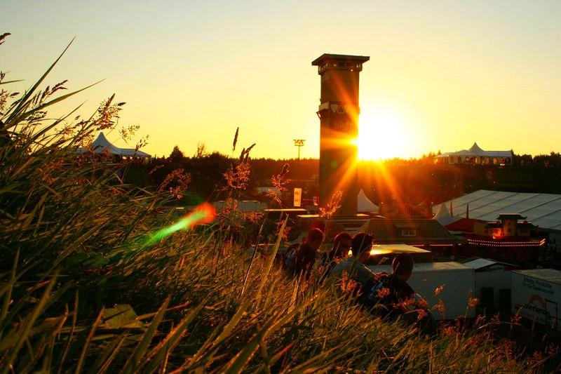 Raketenbasis Pydna - Sonnenuntergang