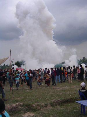 Raketenfestival - Boun Bang Fai - Vientiane