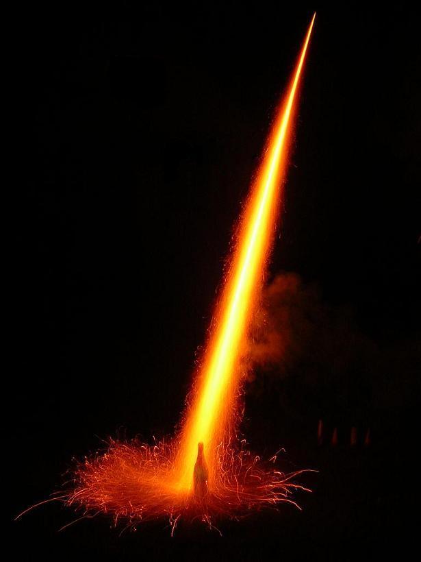 Raketenstart !