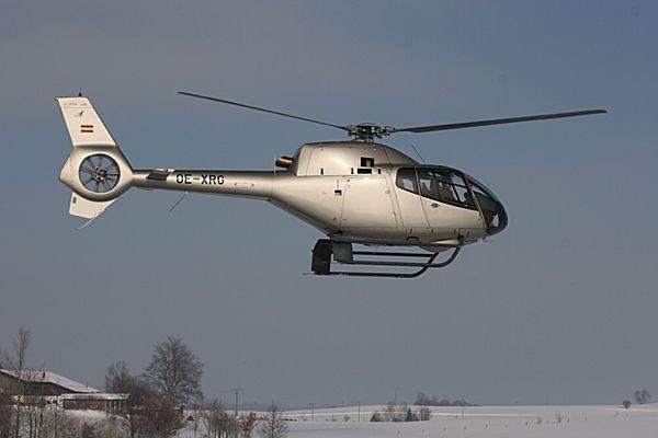 Ralf Schuhmachers Hubschrauber...