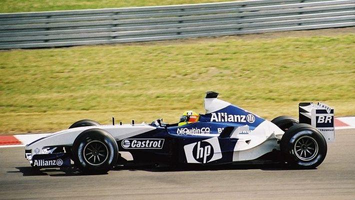 Ralf Schumacher F1 Grand Prix von Europa 2003 am Nürburgring