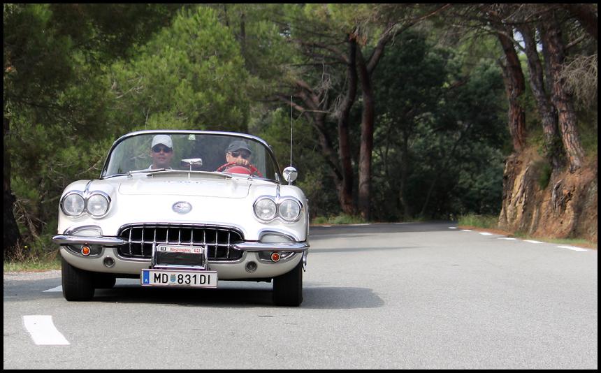Rally St. Tropez -Corvette-
