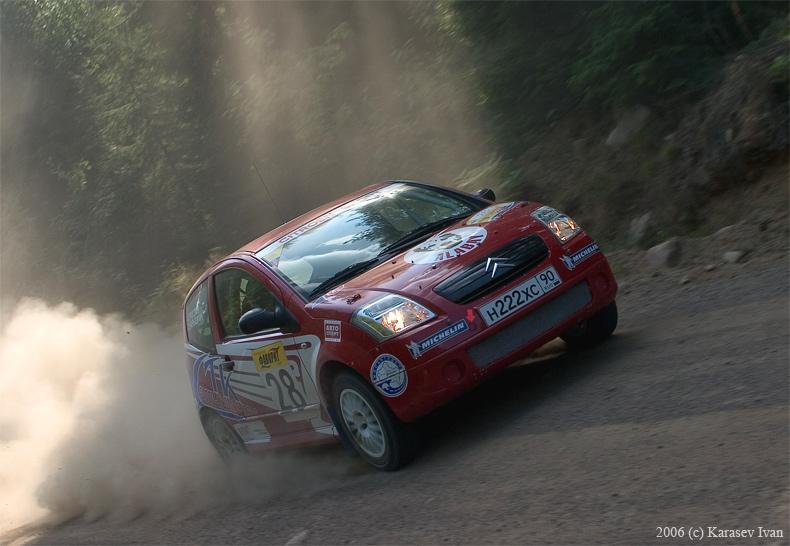 Rally Vyborg 2006. Team Alabay