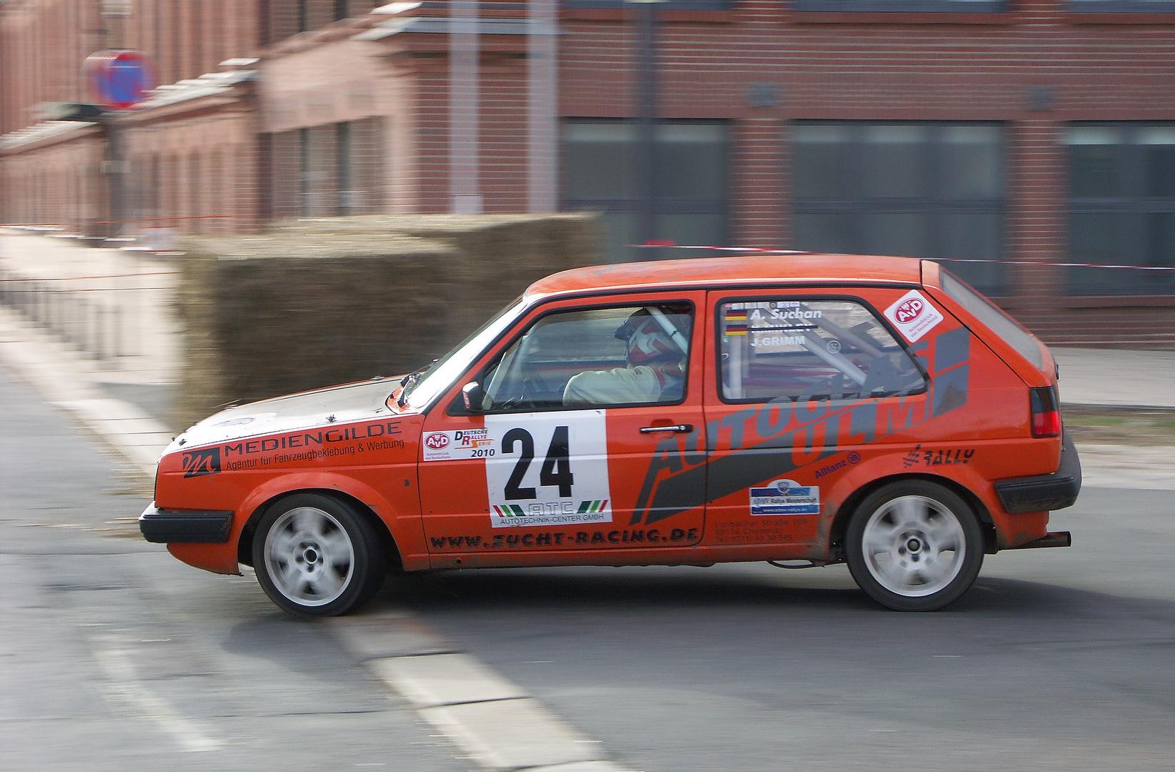 Rally Zwickauer Land, VW