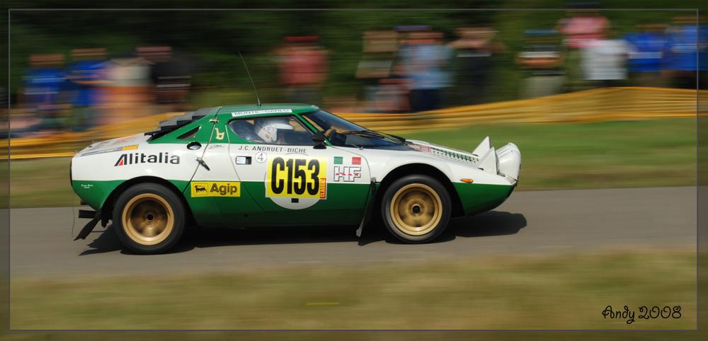 Rallye 2008 Panzerplatte