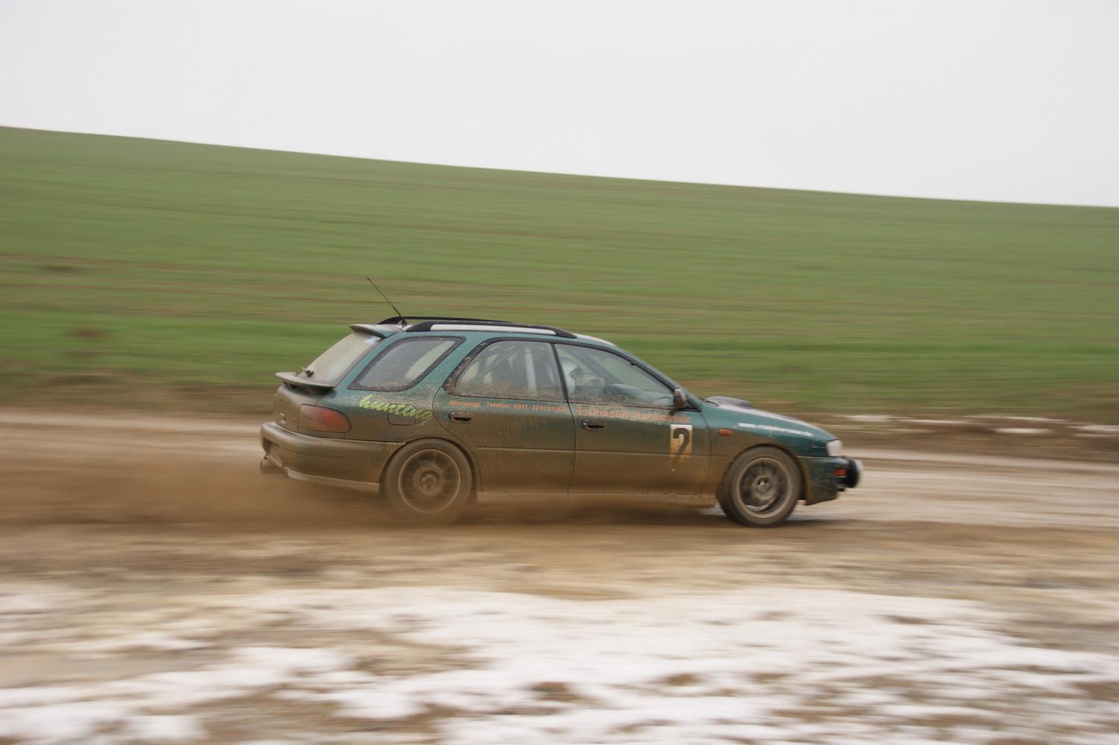 Rallye-Action