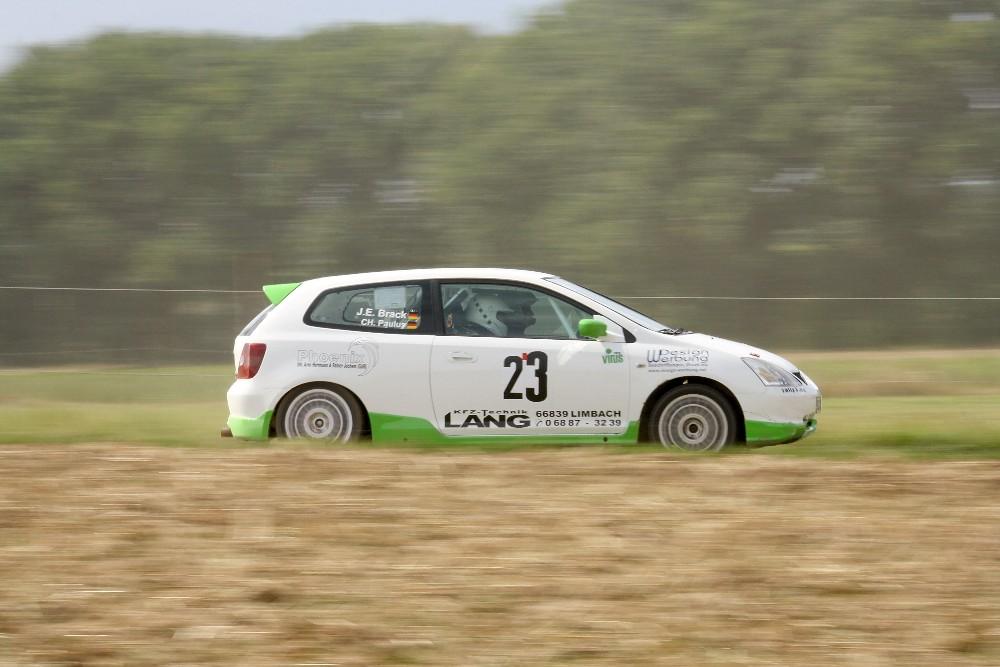 "Rallye Alzey 2009 - De ""junge"" Brack im Tiefflug"