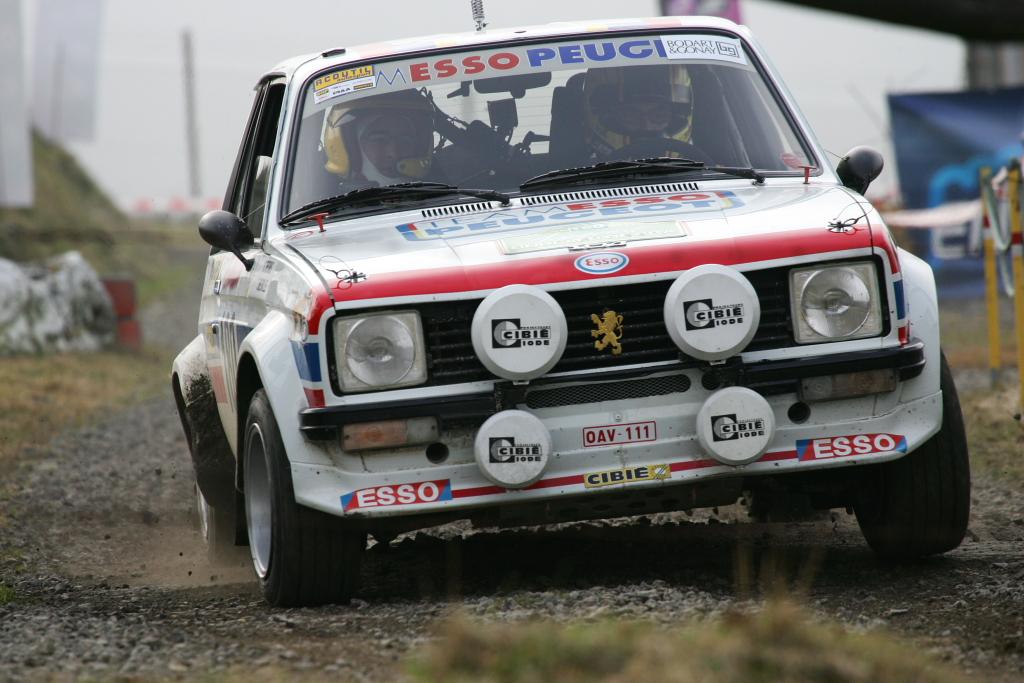 Rallye Boucle de Spa Legend 2011