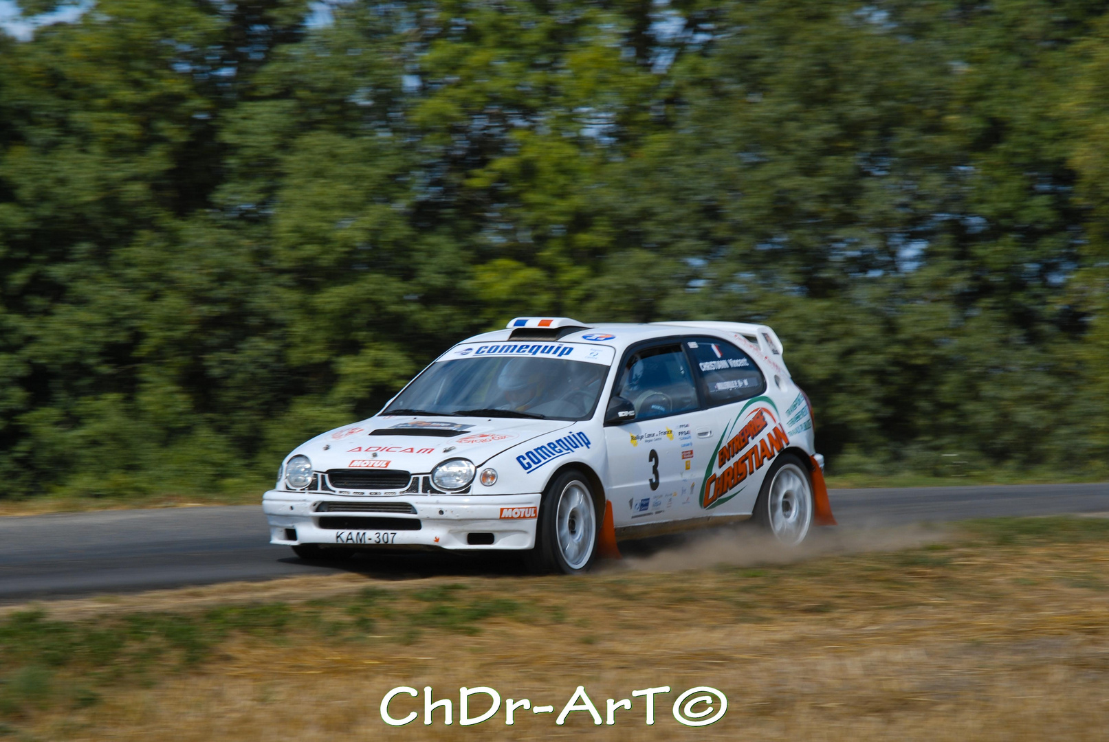 Rallye coeur de france 2010