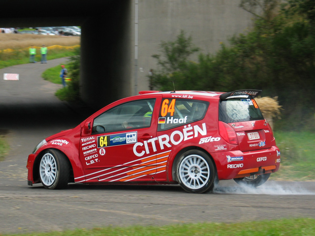 Rallye Deutschland '04 - CITROÉN C2 Super1600